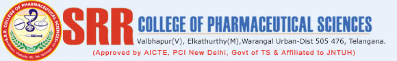 SRR College of Pharmaceutical Sciences